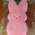 Easter Bunny Rabbit Soap ~ cute, handcrafted glycerine soaps.