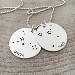 Constellation Necklace, Starsign Jewellery, Zodiac Necklace, Stars Sky Inspired