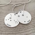 Constellation Necklace, Starsign Jewellery, Zodiac Necklace, Stars Sky Inspired