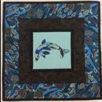 Australiana table centre - Dolphin