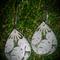 Acrylic Dangly earrings