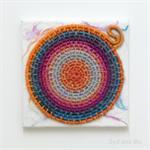 Hand Woven Mandala Wall Art