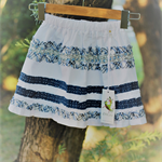 Navy & White pretty perfect party skirt - size 3