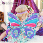 Fabric Butterfly Wings - Custom Designed