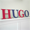 Wooden 17cm Wall or Door Letters. 4 Letters.