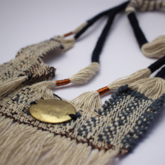 Saltwater River Hand Woven Neck Piece