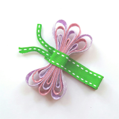Dragonfly ribbon hair clip