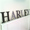 Wall or Door Name Plaque. 17cm. 6 Letters.