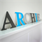 Name letters for Wall or Door.  12cm.  6 letters.