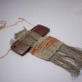 Sunrise Shoreline - Woven & Pottery Necklace