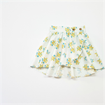 Girls Wattle Blossom Wrap Skirt Toddler Skirt Little Girls Skirt Size 3 to 6