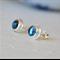 London Blue Topaz Stud Earrings
