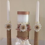 Handmade Wedding Soy Candles
