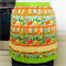 Half Apron Oranges & Lemons - womens lined apron - oranges lemons & limes print