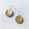 AUSTRALIS BOHO - Sun - Hoop Earrings {Tan}