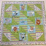 """""""Baby Blessings"""" baby quilt"""