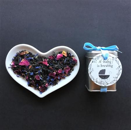 Tea Favour ,Baby Shower Favor,TEA favor, Christening, Baptism,Organic Teas,