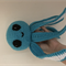 Crochet Baby Octopus Soft Toy Nautical Nursery Decor Cotton Sea Creature