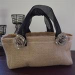 Hessian tabletop/benchtop bag