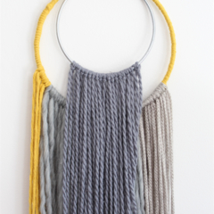 Wall Hanging - Medium  - Summer Neutral
