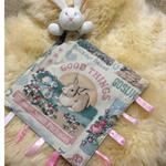 Baby Security Taggie Blankie-Rabbit