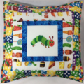 VERY HUNGRY CATERPILLAR cushion covers