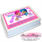 Shimmer & Shine Personalised A4 Edible Icing Cake Topper