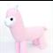 **'Allegra' the Sock Alpaca - pink - *READY TO POST*