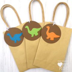 Dinosaur Gift Tags. Swing Tags. Dino baby shower or birthday party.