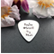 Personalised Guitar Pick - Gift for Him - Customised Guitar Pick