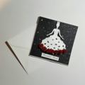 Beautiful Bride Glitter Card