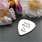 Personalised Guitar Pick - Gift for Him - Customised Guitar Pick