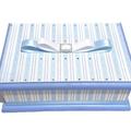 Elegant Blue & White Keepsake Trinket Treasure Jewellery Memory Wooden Box