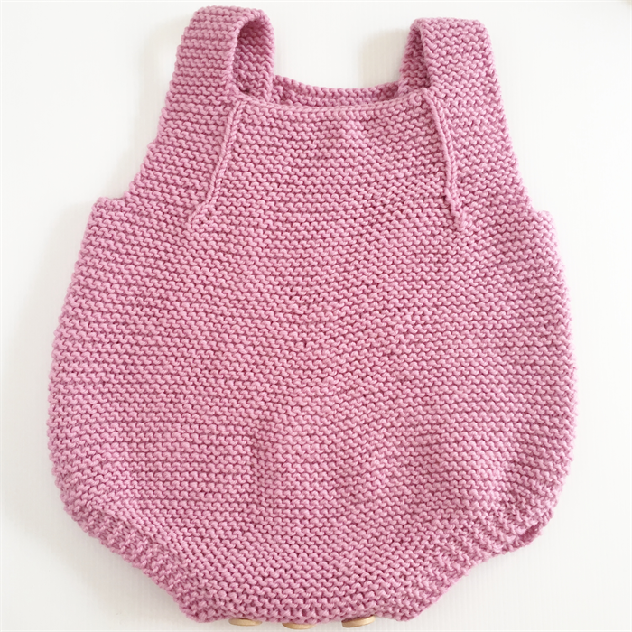 09746c130f6d Romper - Merino Wool Knitted Playsuit newborn baby - 0-3 Months ...
