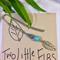 """""""Turquoise Leaf Bookmark"""""""
