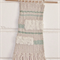 Weaved Wall Hanging, Natural, Cream and Light Green