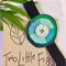 Ocean Elastic Bookmark