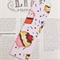 Fabric Bookmark, Cupcakes with Sprinkles