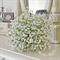 Bouquet of white, gypsophila, baby's breath bridal bouquet