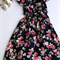 Size 2 - Stunning Boho Floral Ruffle Off the Shoulder Maxi Dress, Girl, Toddler