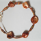Copper/bronze colored anklet