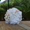 Bridesmaid bouquet, handmade, made to order, peony, white, blush.