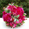 Bouquet of tulip, orchid, berries, sweet pea, calla lily, sage & succulents,