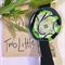 Green/Black Elastic Bookmark