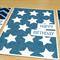 Set 3 Male Happy Birthday cards - blue - FREE POST