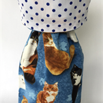 Wine Bottle Gift Bag / Cats