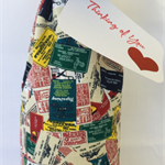 Wine Bottle Gift Bag / Postcards