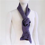 Long scarf in mauves and black.  Recycled from vintage Japanese kimono.