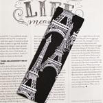 Fabric Bookmark, Eiffel Tower