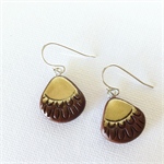 AUSTRALIS BOHO - Teardrop - Hoop Earrings {Chocolate}